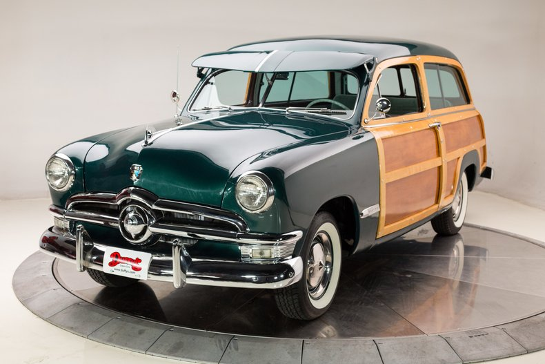 1950 Ford Custom Woody Wagon