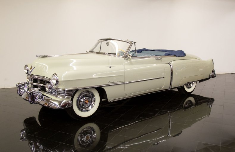 1950 Cadillac Series 62 Convertible Coupe