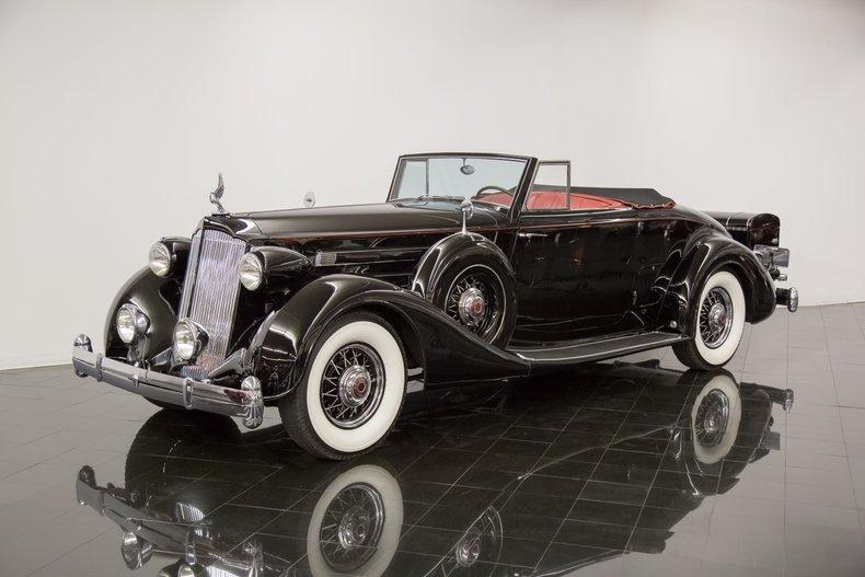 1936 Packard Twelve 1407 Coupe