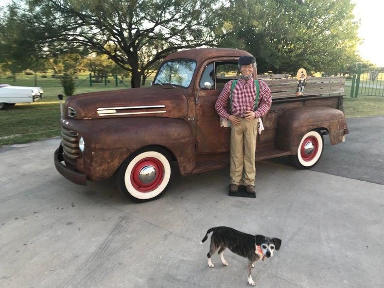 1950 Ford F1 1/2 ton Flathead V8 3 spd 12 volt Radial WWW tires