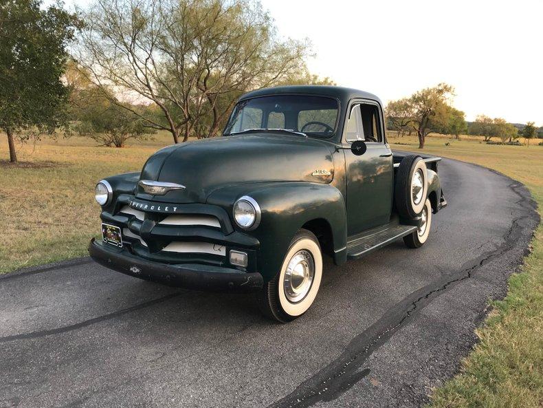 1954 Chevrolet 3100 5 window deluxe cab 235 3SPD good ole body