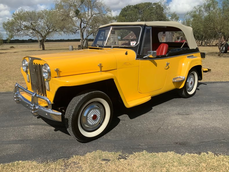 1948 Willys Jeepster 302 V8, PS, PB, Auto