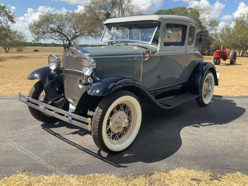 1930 Ford Model A 5 window deluxe cpe with rumble seat