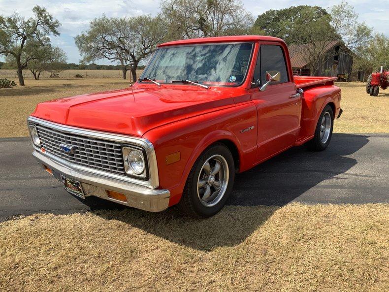 1971 Chevrolet C10 350 700-R AC PS PB swb Coys