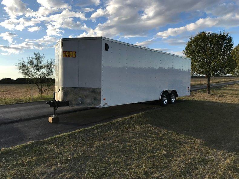 2015 Wells Cargo Fasttrac 24 foot enclosed car hauler 10k lbs  GVW