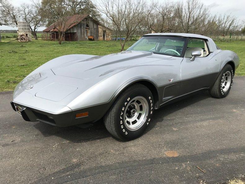 1978 Chevrolet Corvette Silver Anniversary collector's Edition