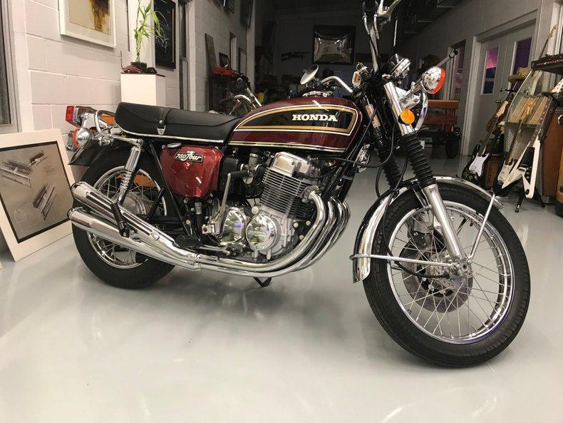 1976 Honda CB-750 MUSEUM QUALITY  CB 750 FOUR