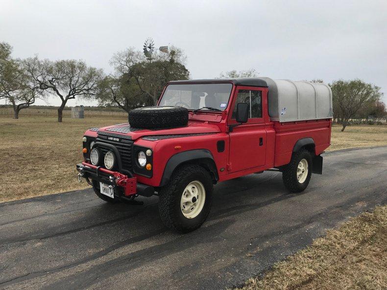 1987 Land Rover Defender 110 High Capacity Pickup