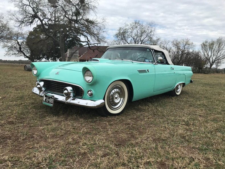 1955 Ford Thunderbird 292 4BBL, Auto, PS, PB, PW, PS, 2 Tops