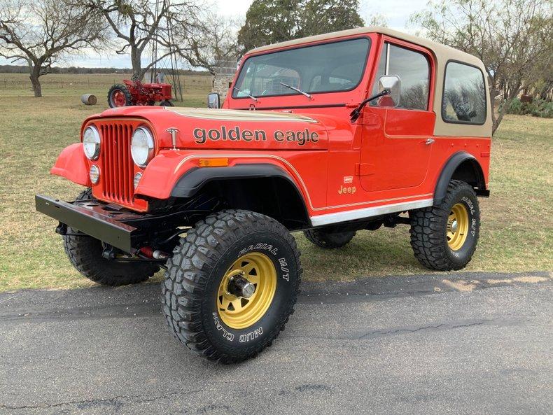 1979 Jeep CJ7 Golden Eagle 258, PS, PFDB, Auto, Hardtop