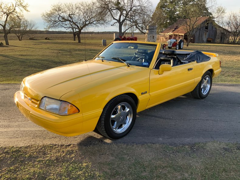 1993 Ford Mustang Rare Feature Car, 5.0 HO, 5-Speed