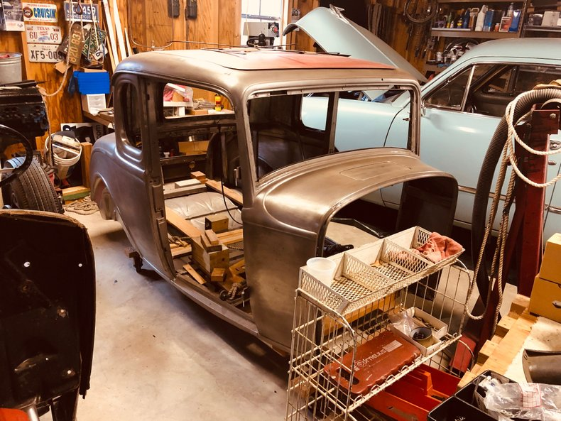 1932 Ford 5-Window Original Henry Ford Steel Project