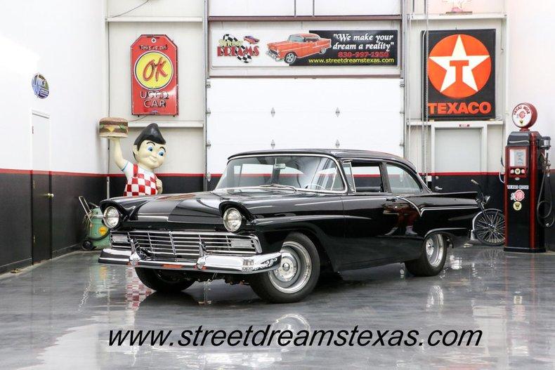1957 Ford Custom OVER 240,000 SPENT ZZ572 4L85E Gabe Lopez leather Kugel