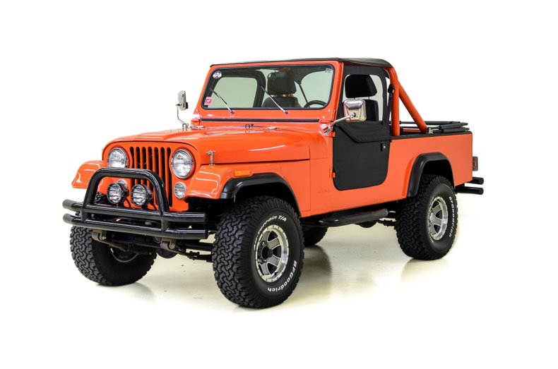 1984 Jeep Scrambler CJ 8