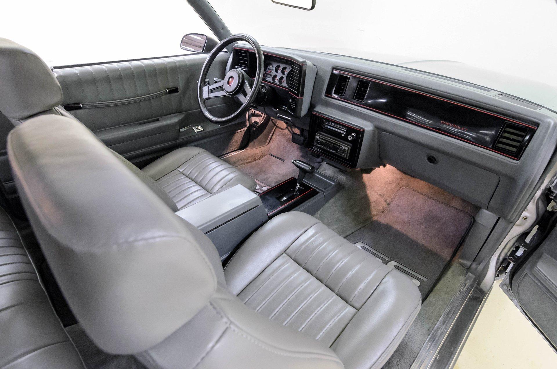 1987 Chevrolet Monte Carlo SS Aero | Auto Barn Classic Cars