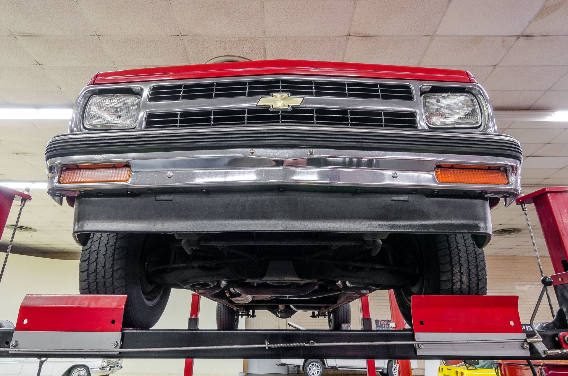 1991 chevy s10 rear bumper