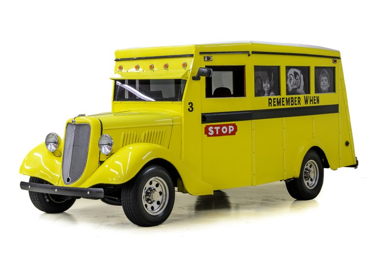 1935 Ford Slantback School Bus