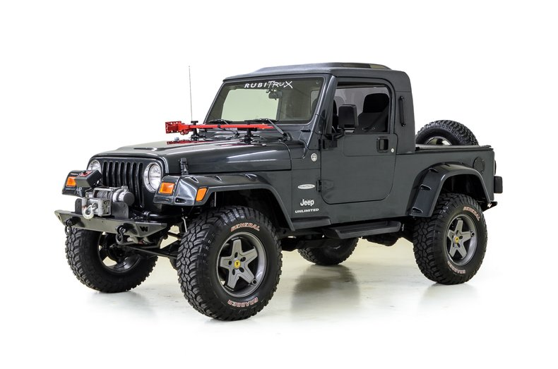 2006 Jeep Wrangler Unlimited Rubitrux For Sale 94655 Mcg