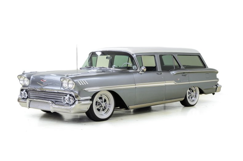 1958 Chevrolet Brookwood Station Wagon