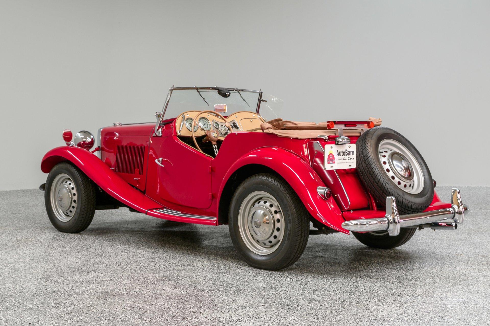 Super 1953 Mg Td Auto Barn Classic Cars Wiring Digital Resources Funapmognl