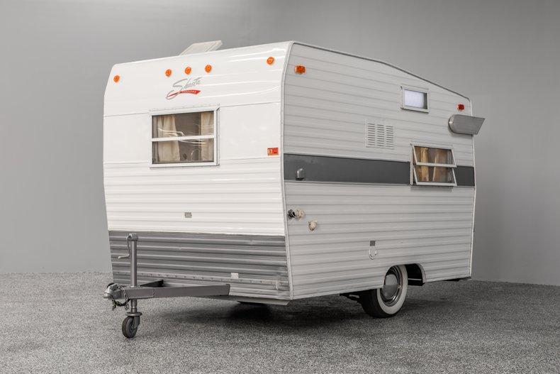1972 Shasta Compact Vintage Camper Trailer
