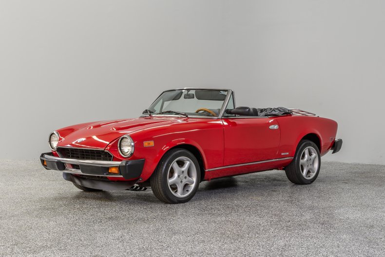 1983 Fiat Spider For Sale