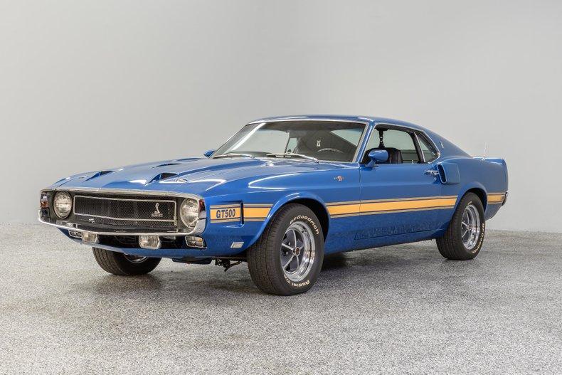 1969 フォード マスタング シェルビー GT 500