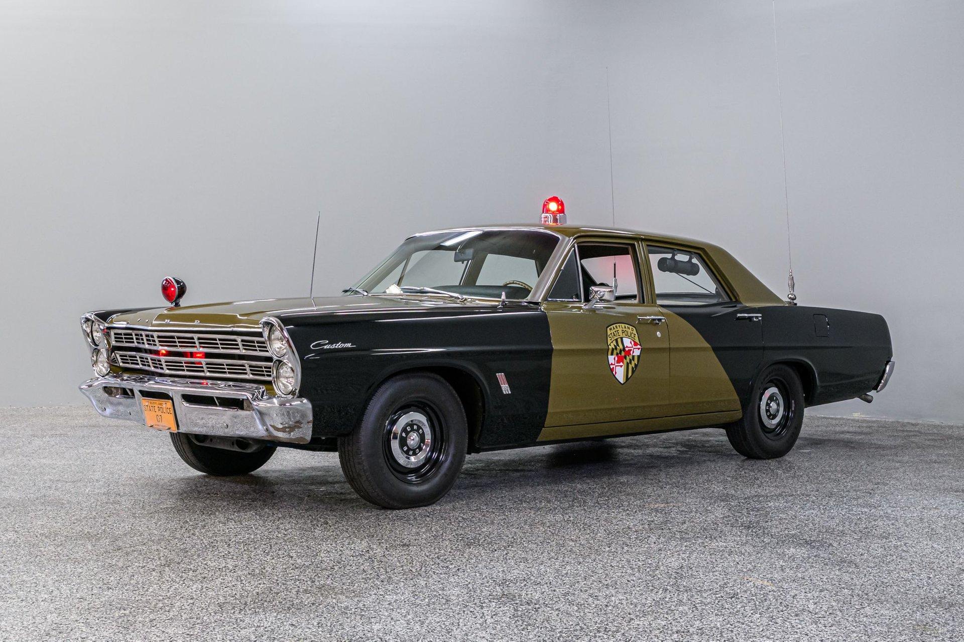 1967- フォード カスタム  ポリス