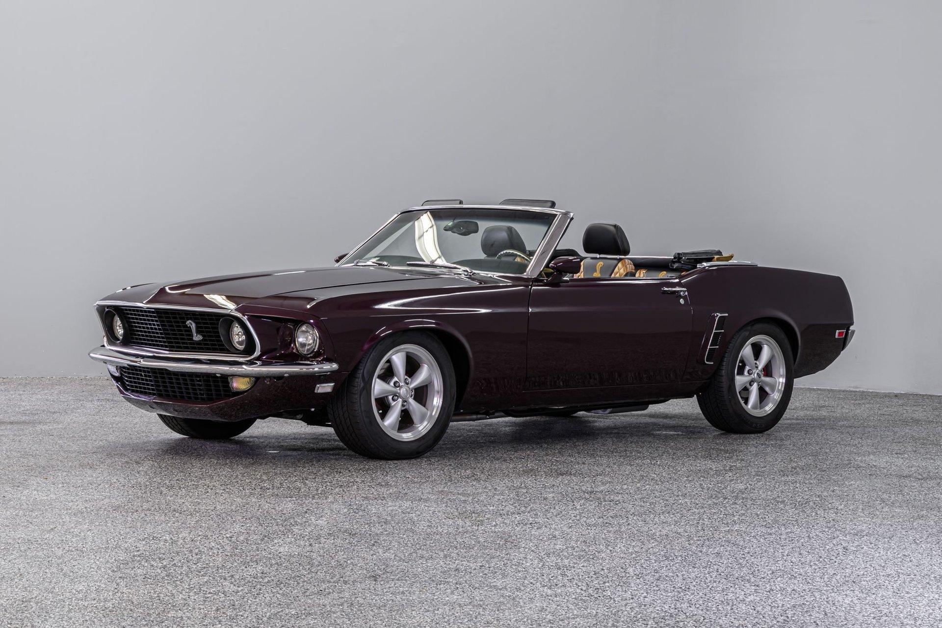 1969 ford mustang cobra tribute