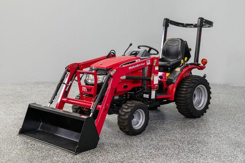 2013 Mahindra Max 25 Tractor