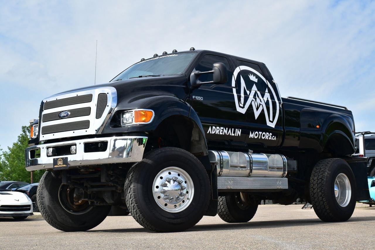 2008 ford f 650 super truck