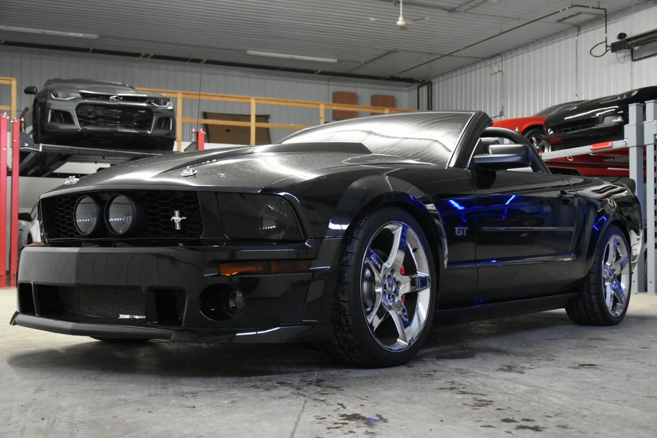 2005 ford mustang gt convertible custom