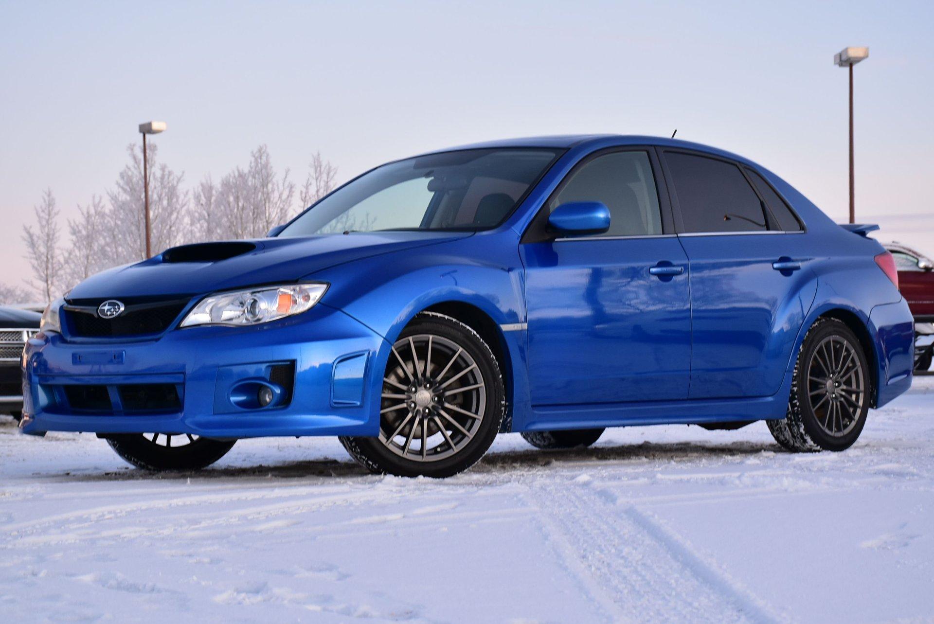 2012 subaru impreza sedan wrx w limited package