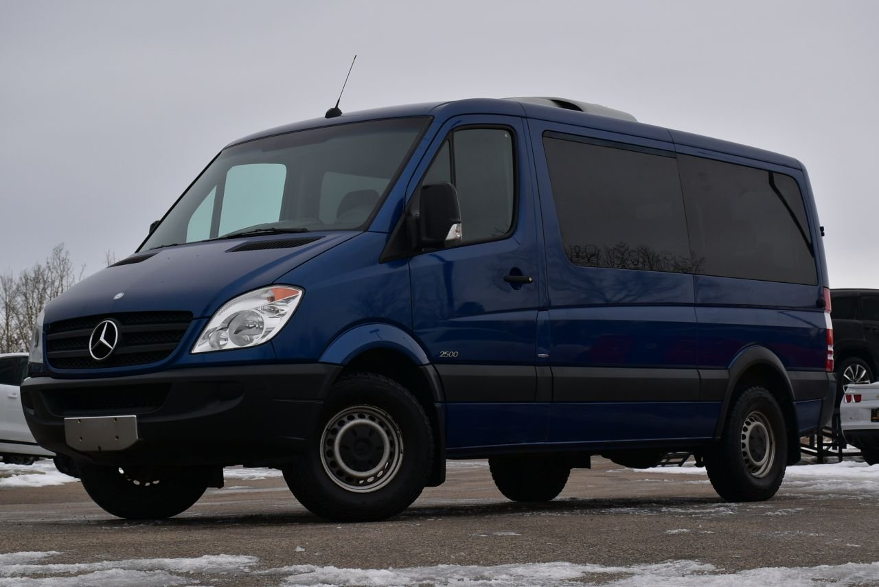 2011 mercedes benz sprinter bluetec 2500
