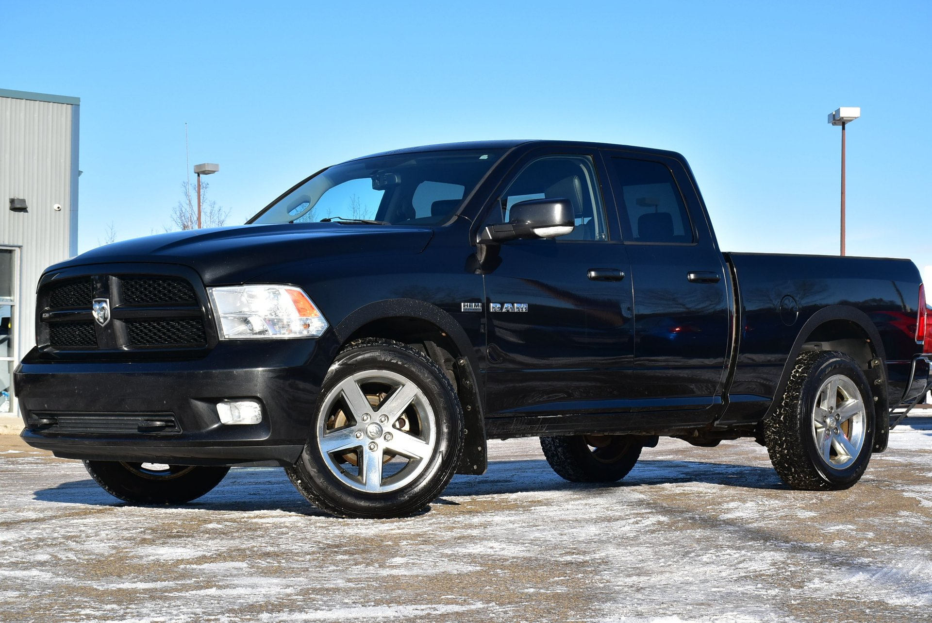 2010 dodge ram 1500 quad cab sport loaded