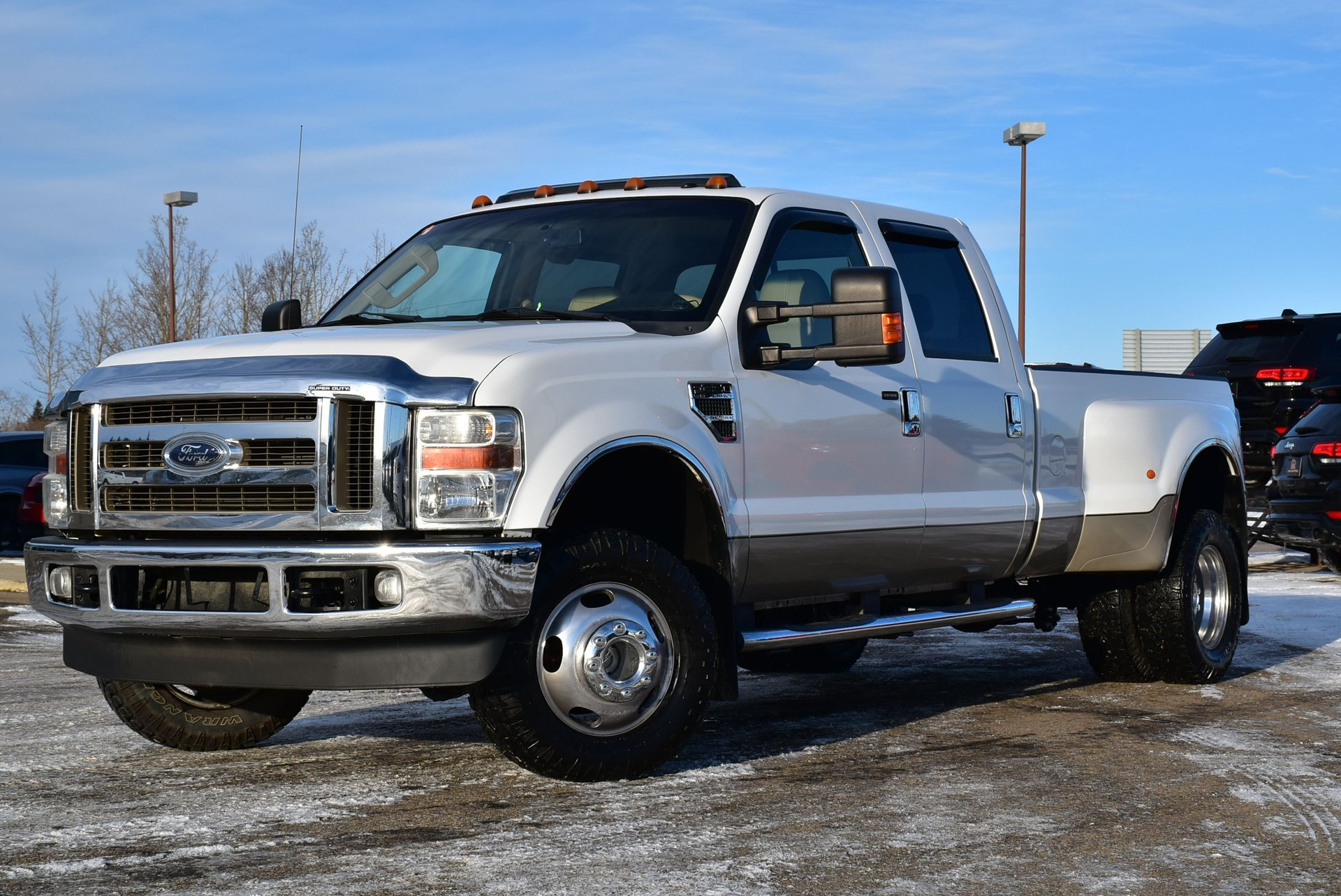 2008 ford f 350 lariat dually
