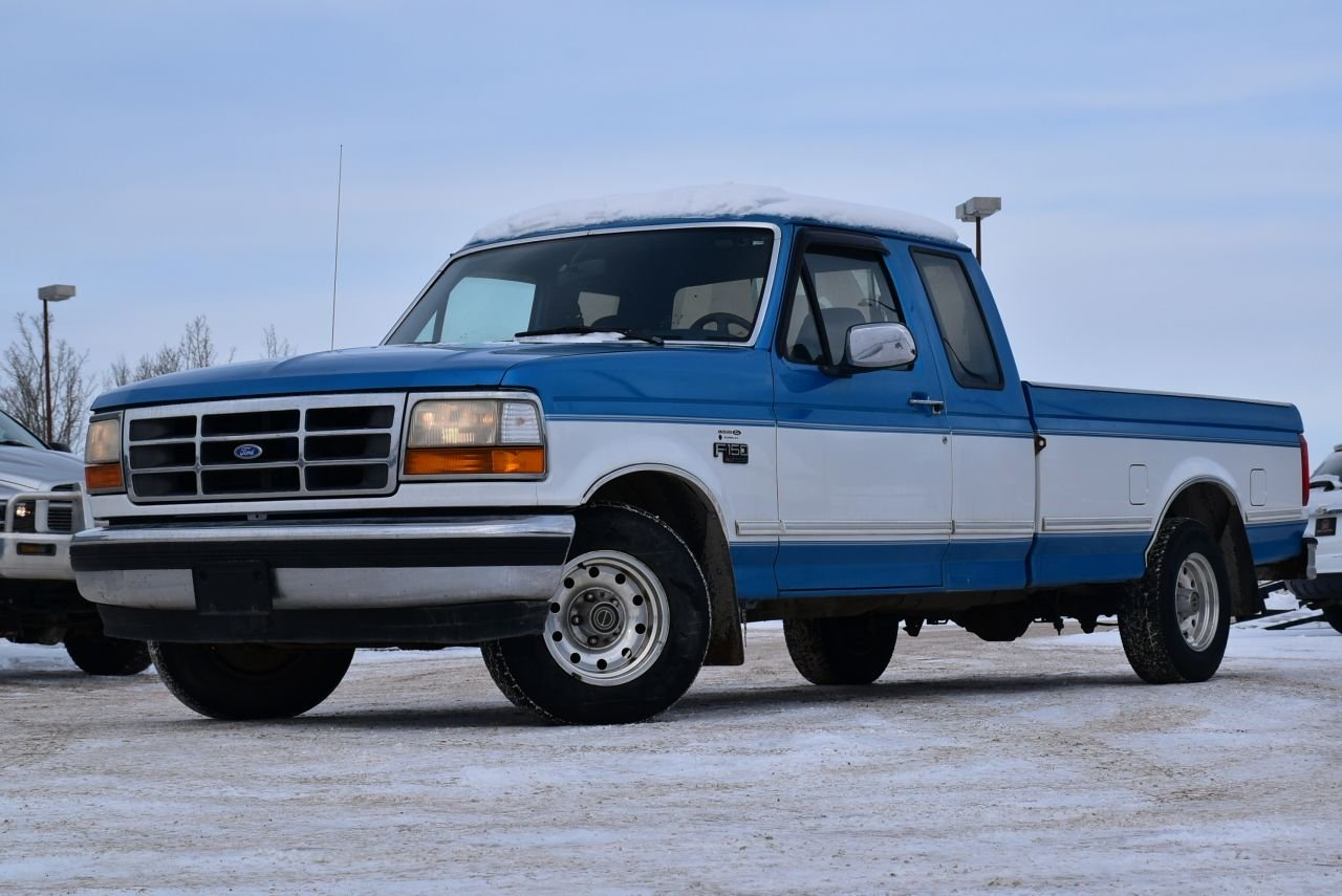 1995 ford f 150 supercab super low km