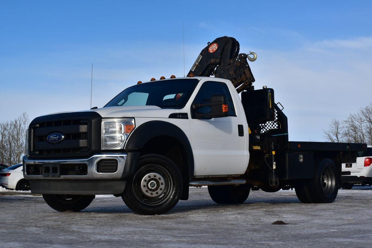 2011 ford super duty f 550 drw picker truck fresh cvip