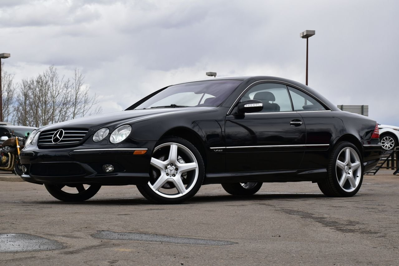 2003 mercedes benz cl600 5 5l v12