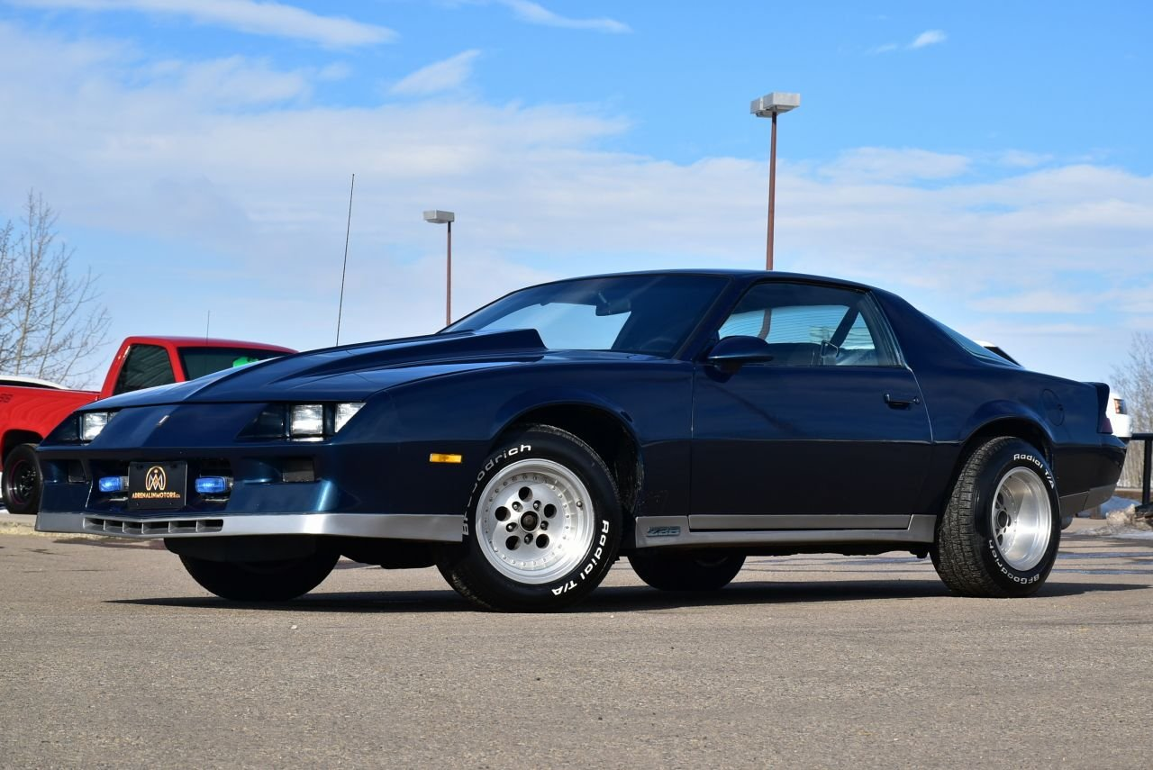 1982 chevrolet camaro coupe