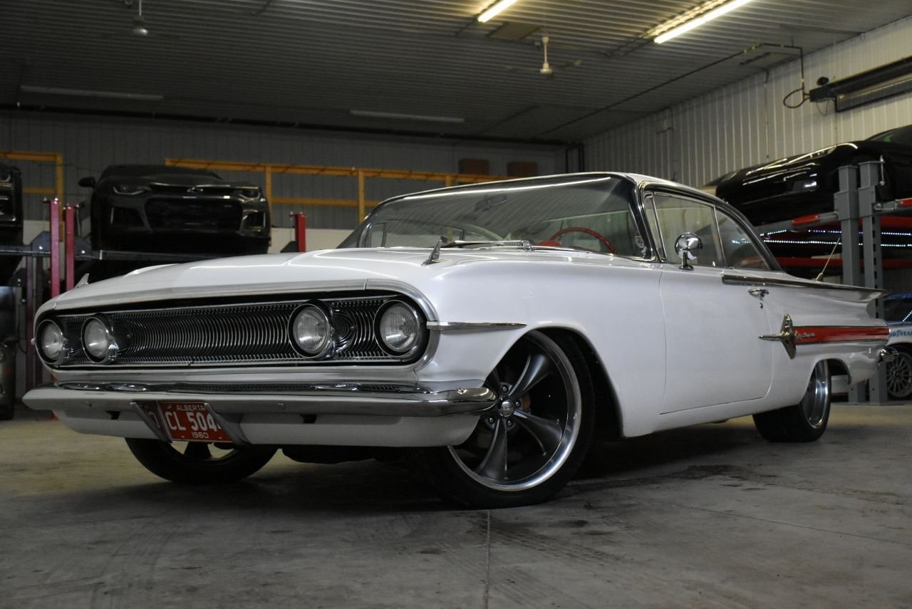 1960 chevrolet impala fully restored