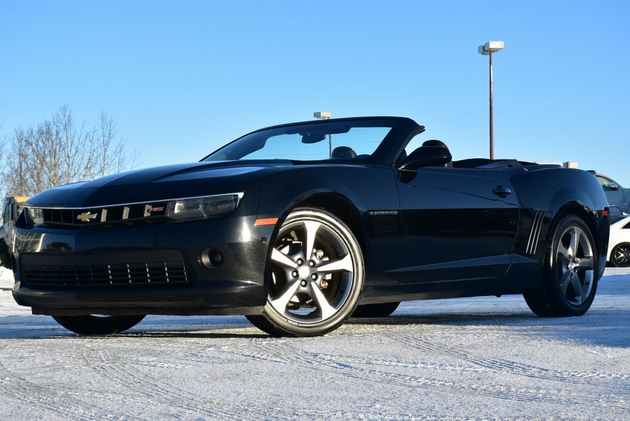 2014 chevrolet camaro 2lt rs convertible