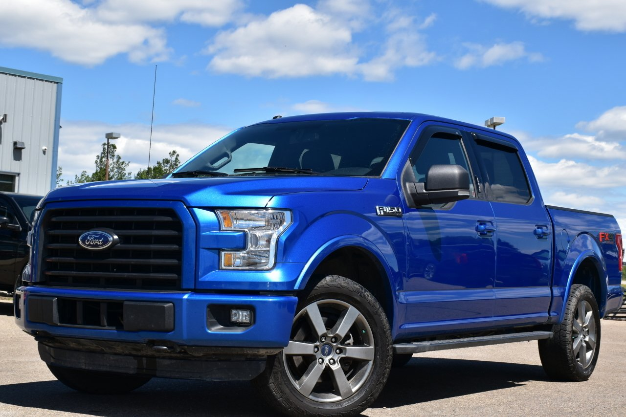 2016 ford f 150 xlt supercrew fx4