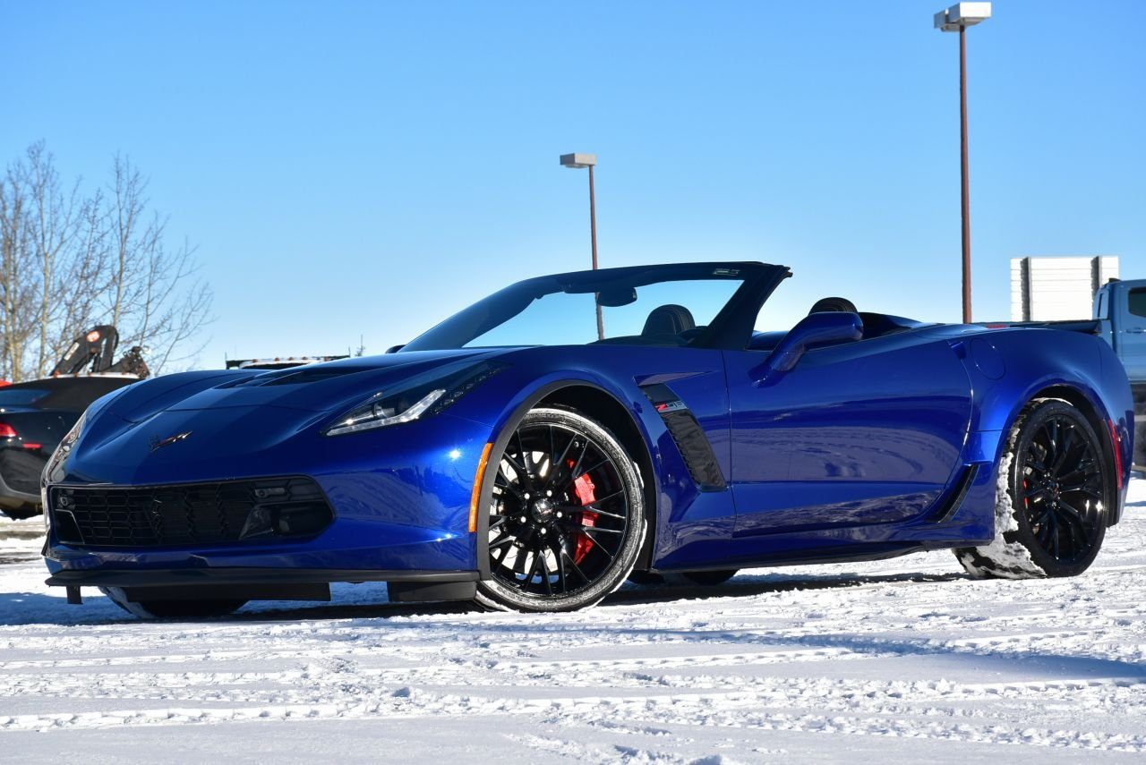 2017 chevrolet corvette z06 w 2lz convertible