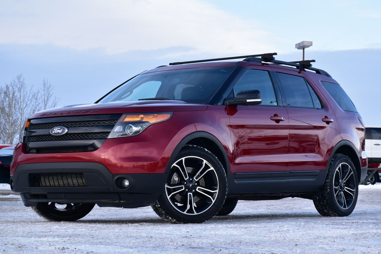 2015 ford explorer sport loaded