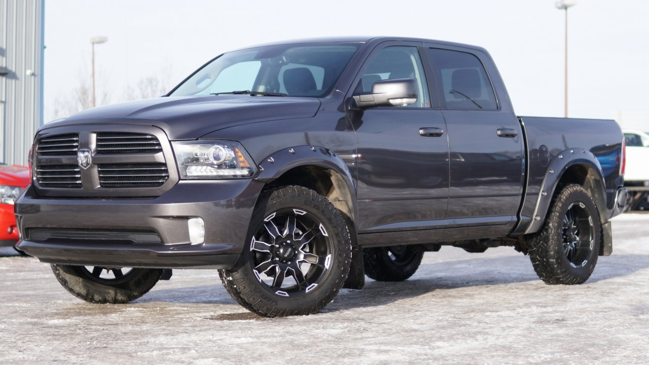2016 ram 1500 sport crew cab fully loaded