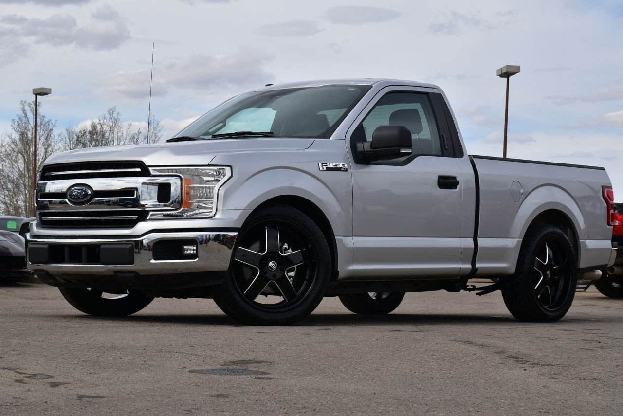 2018 ford f 150 xlt lowered with heated leather