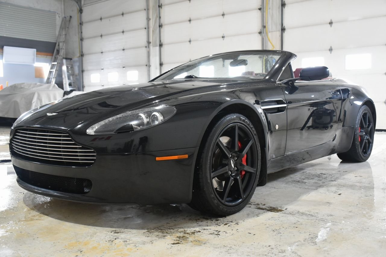 2008 aston martin vantage convertible sport shift