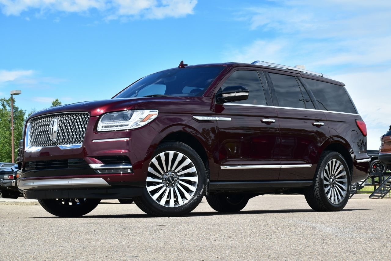 2018 lincoln navigator reserve absolute full load
