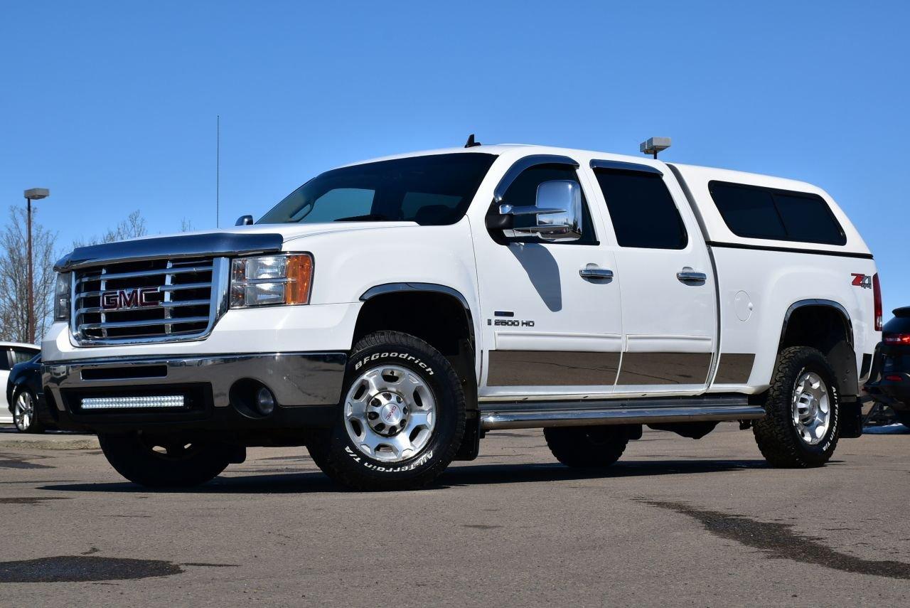 2008 gmc sierra 2500hd crew cab sle w led s and loaded